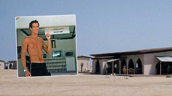 盖德·西姆隆在度假村