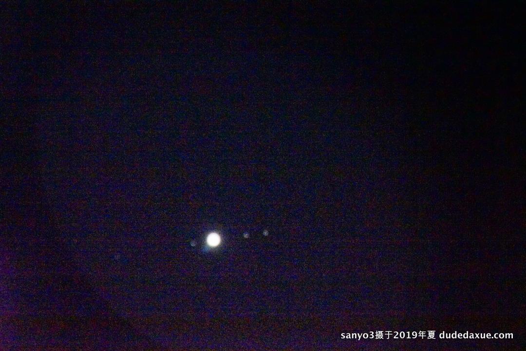 木星与木卫一二三四