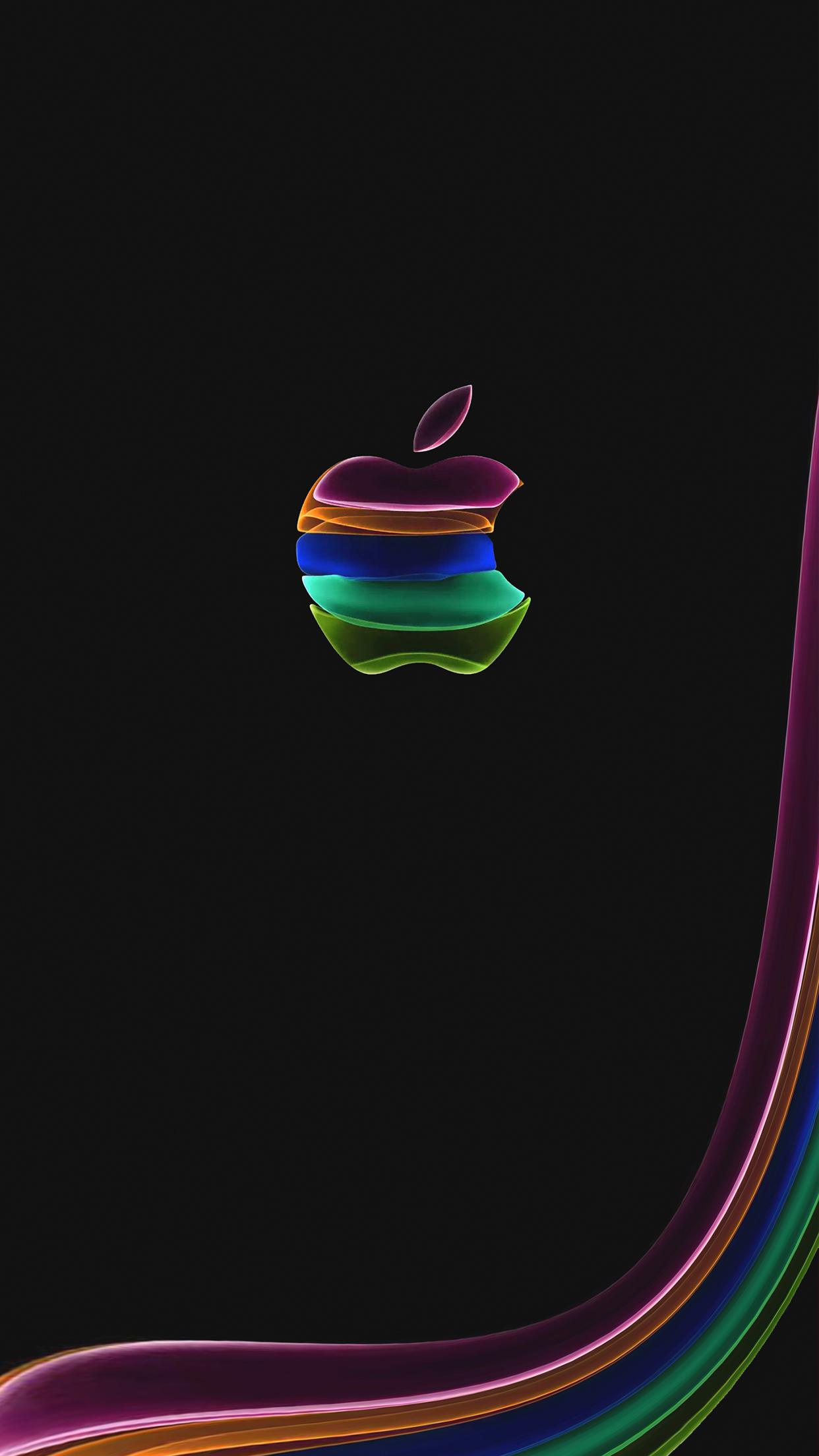 苹果iPhone未到壁纸先袭:iPhone 11邀请函壁纸下载