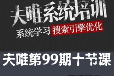 夫唯seo第99期10节课程
