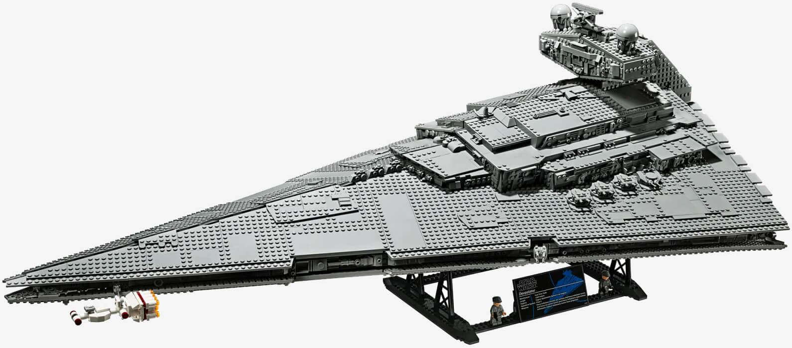 """乐高LEGO推出星战终极收藏家系列""""帝国星际歼星舰"""":售价700美元,10月上市"""