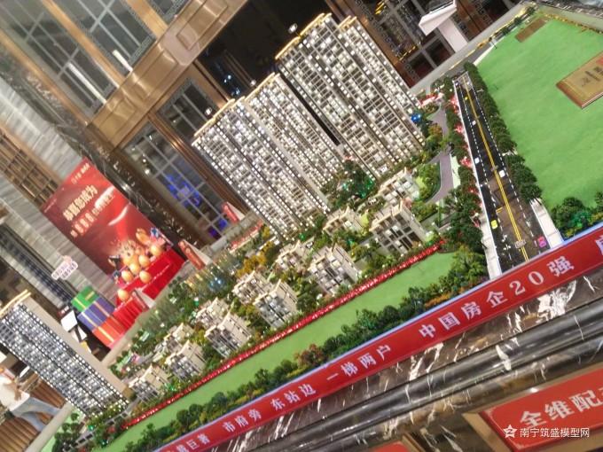 【樊超】上钦州修复了个沙盘模型!广西建筑沙盘模型修复!