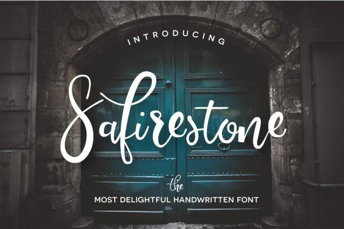 Safirestone手写感字体