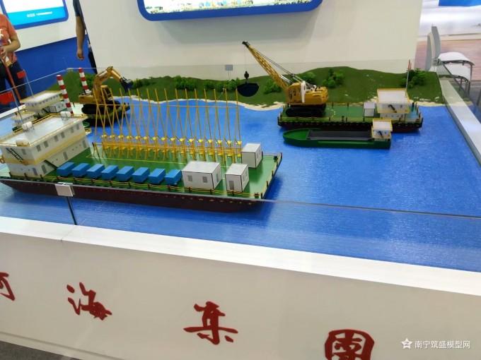 【艾格斯】上午把五个船装完…广西南宁船舶模型