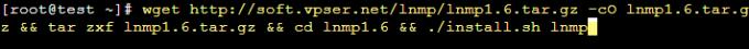 LNMP环境部署:Centos7.X + LNMP1.6