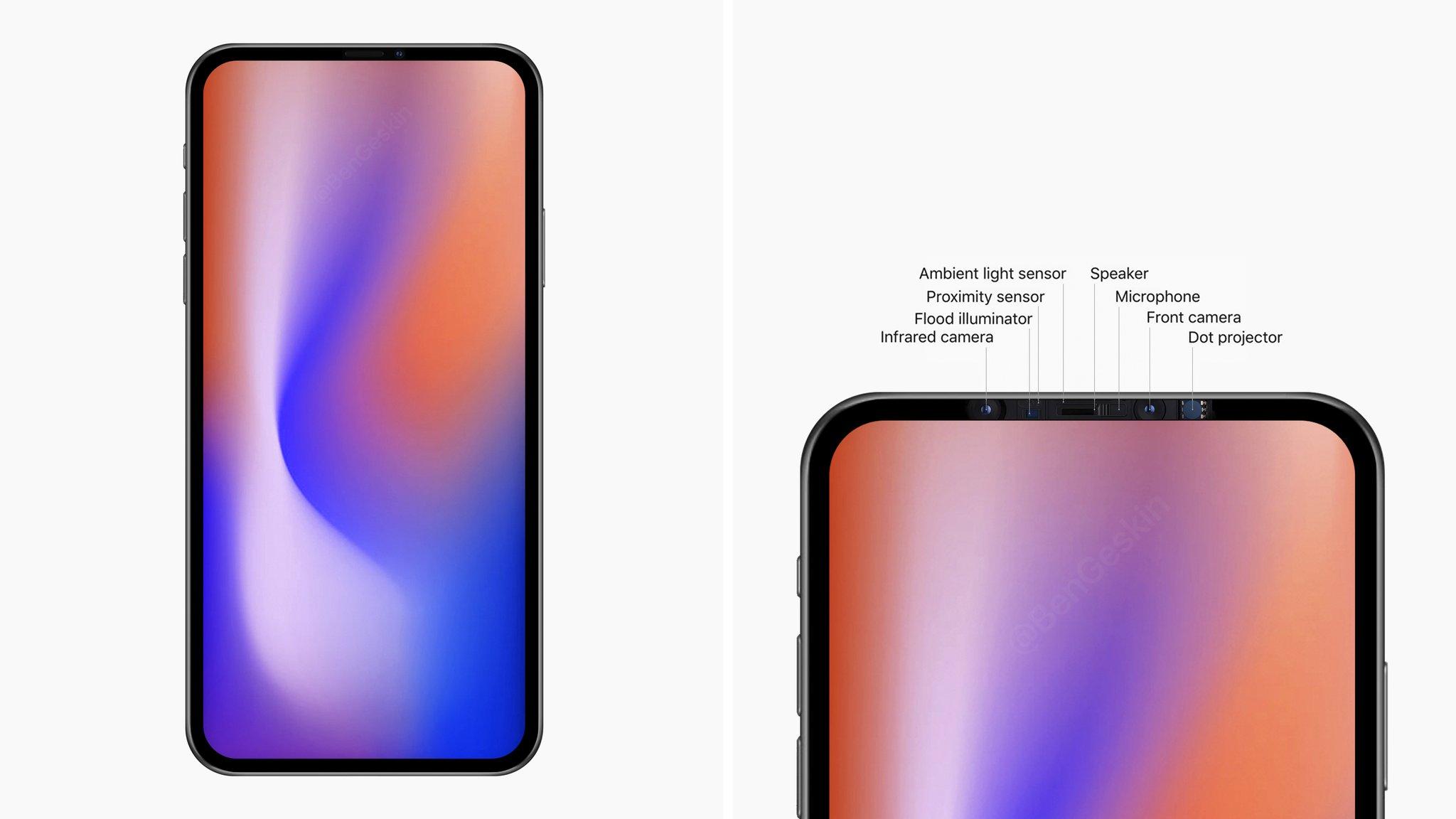 """传iPhone12将回归经典设计,除了支持5G外,还将取消""""刘海"""""""