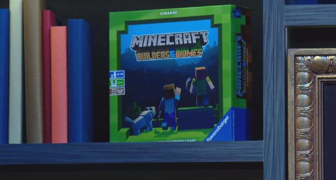 Minecraft新的桌游