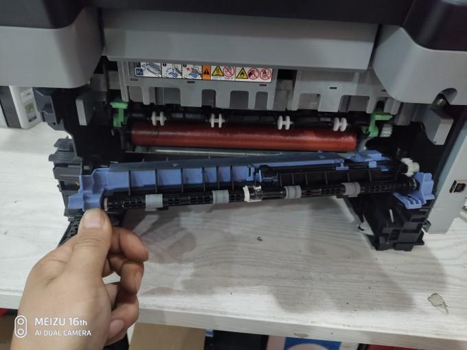 兄弟7060D更换定影辊拆机图解(适用于联想兄弟7系列)