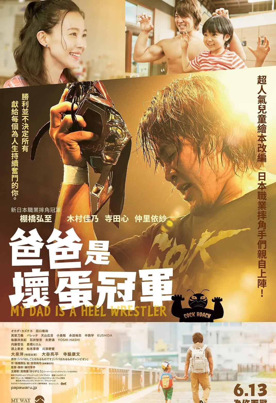 《爸爸是坏人冠军》BD720p日语中字版 百度网盘-第1张图片-木头资源网