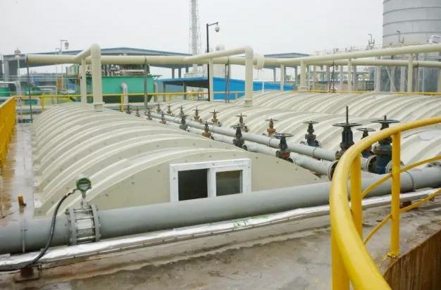污水处理厂除臭加盖图