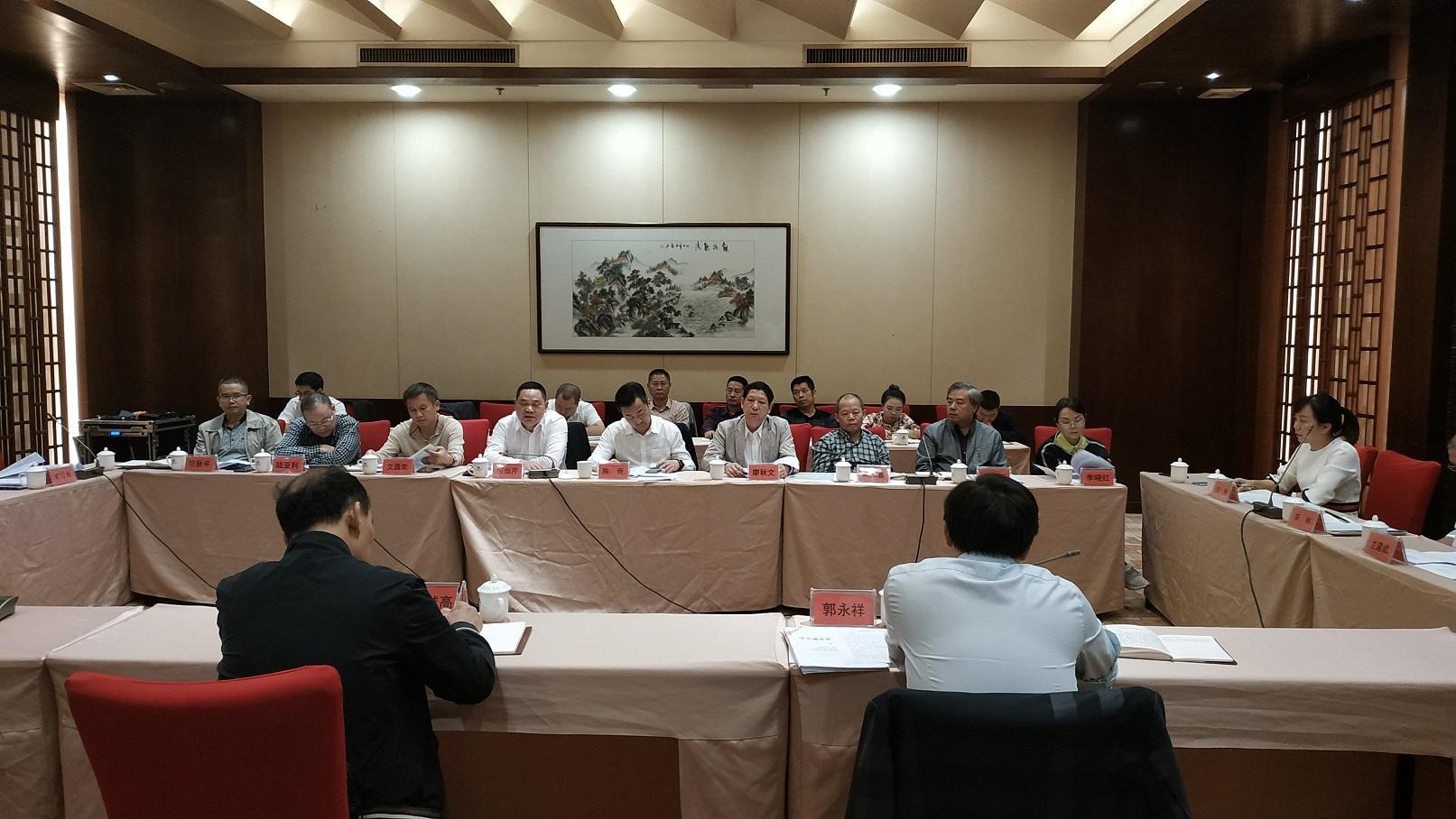 刘越高率调研组一行莅临衡阳调研指导工作