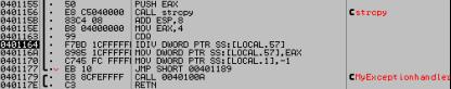 Windows下漏洞利用——S.E.H深入分析