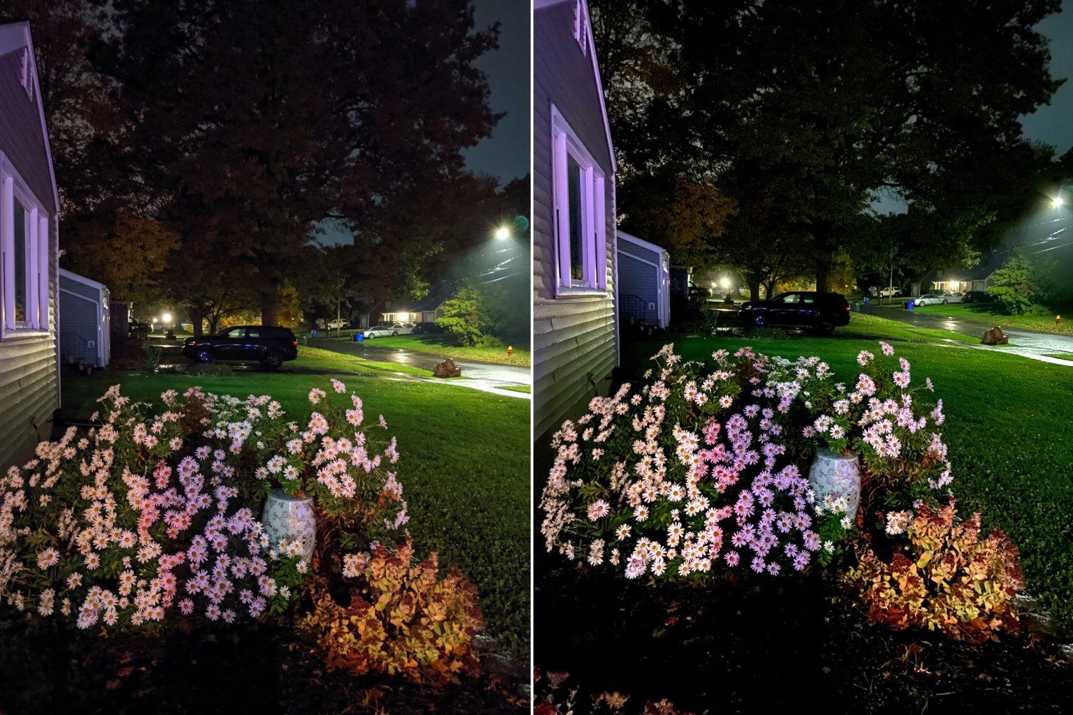 谷歌Pixel 4 vs 苹果iPhone 11 夜拍性能对比:结果没出乎预料