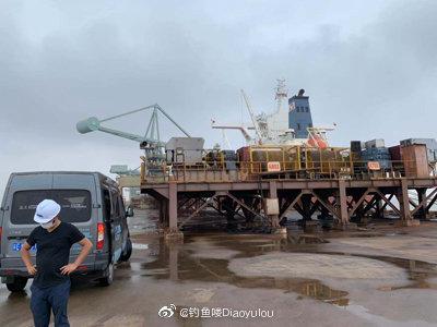 上海宝钢卸货码头 拍摄上海宝钢集团宣传片花絮的一天 新闻中心 1