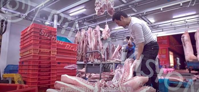 亚通生鲜运输拣货 无锡六安亚通冷链物流公司宣传片赏析 案例欣赏 5