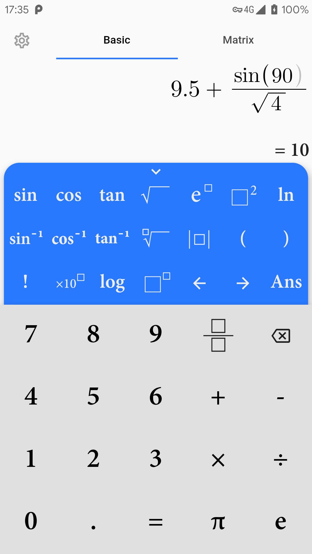 Flutter Scientific Calculator