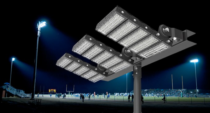 HGLED-TG-015 中小型户外体育场馆 篮球场 足球场 排球场 网球场照明led球场灯减少眩光