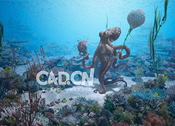 C4D+octane海底章鱼场景大型教程