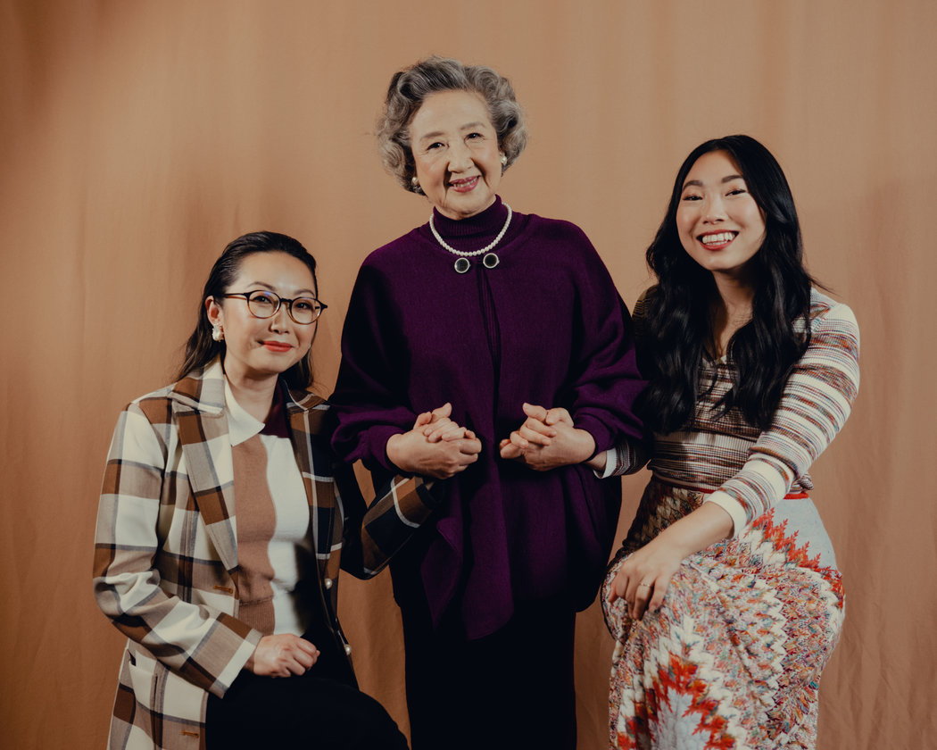 王璐璐、赵淑珍和奥卡菲娜本月在洛杉矶。