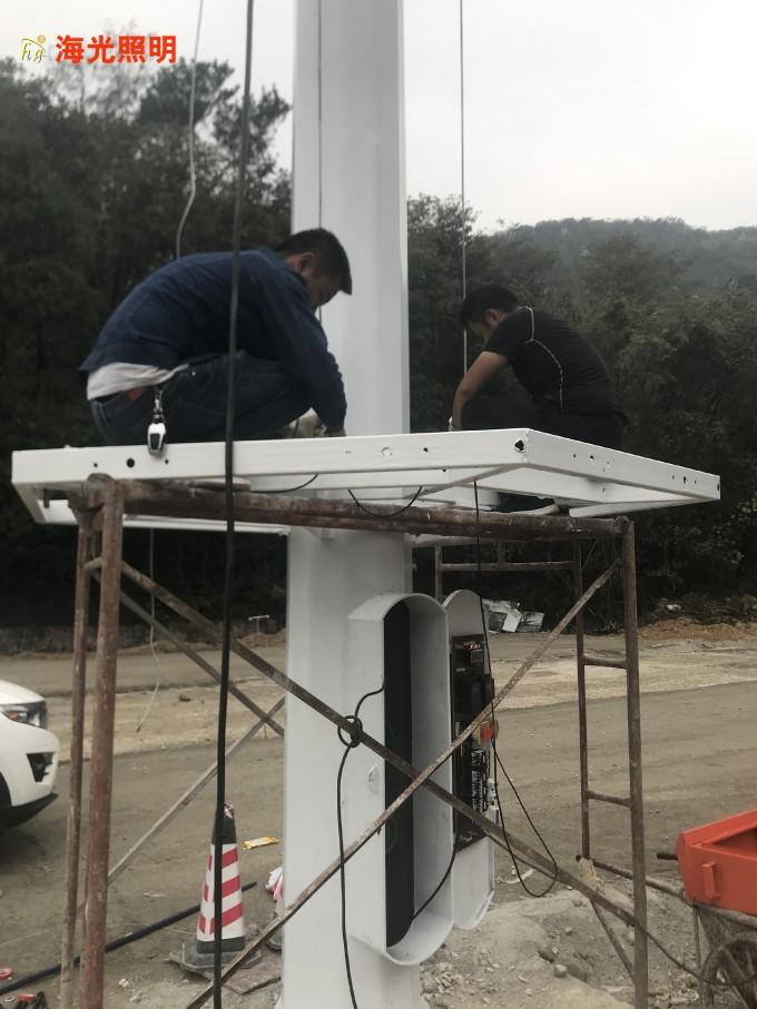 升降式高杆灯有哪些组成部分