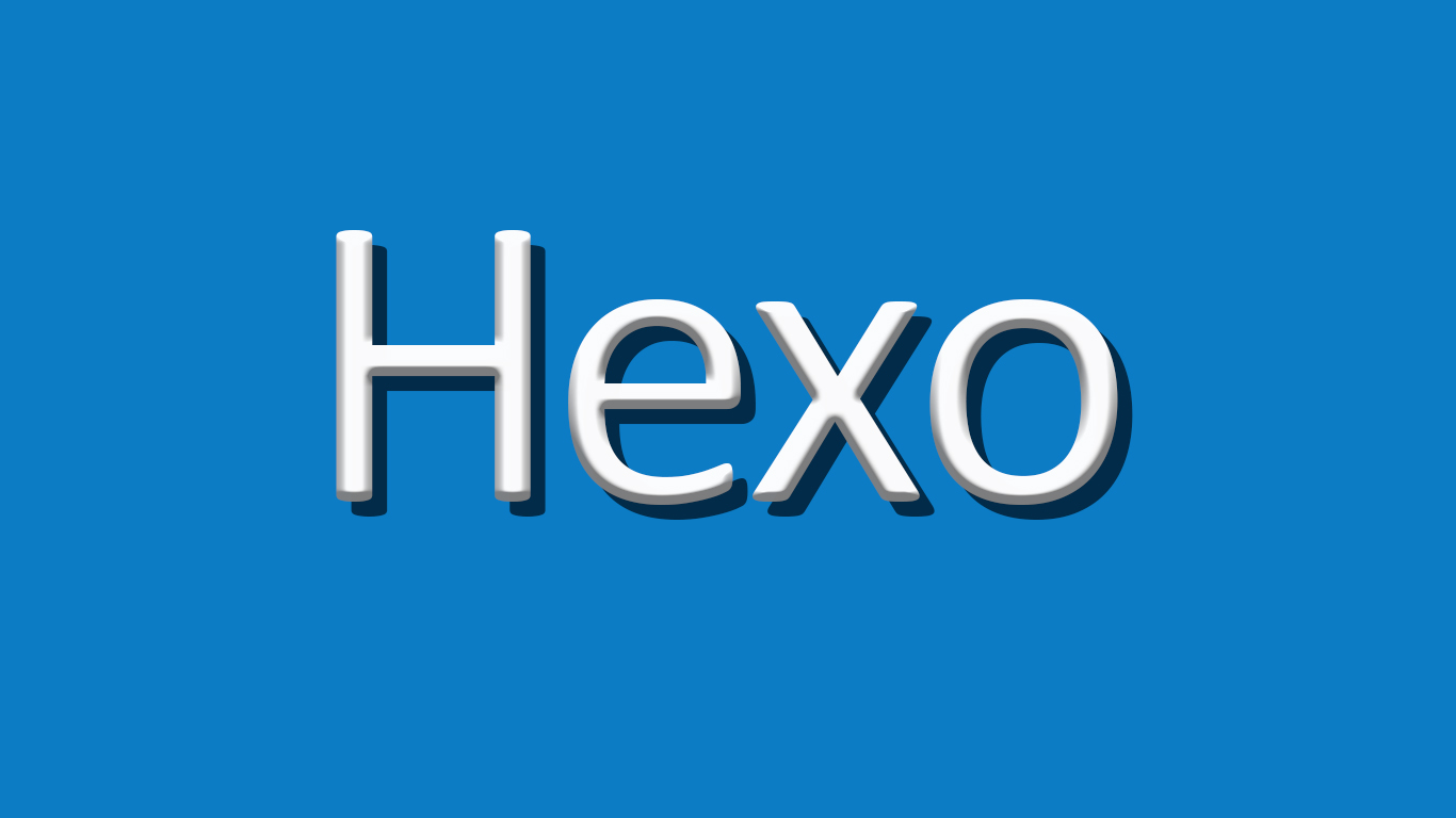 Hexo遇到的那些坑