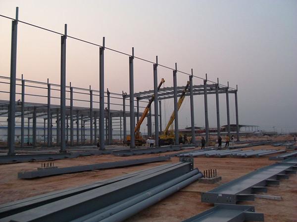 钢结构工程施工的工艺流程