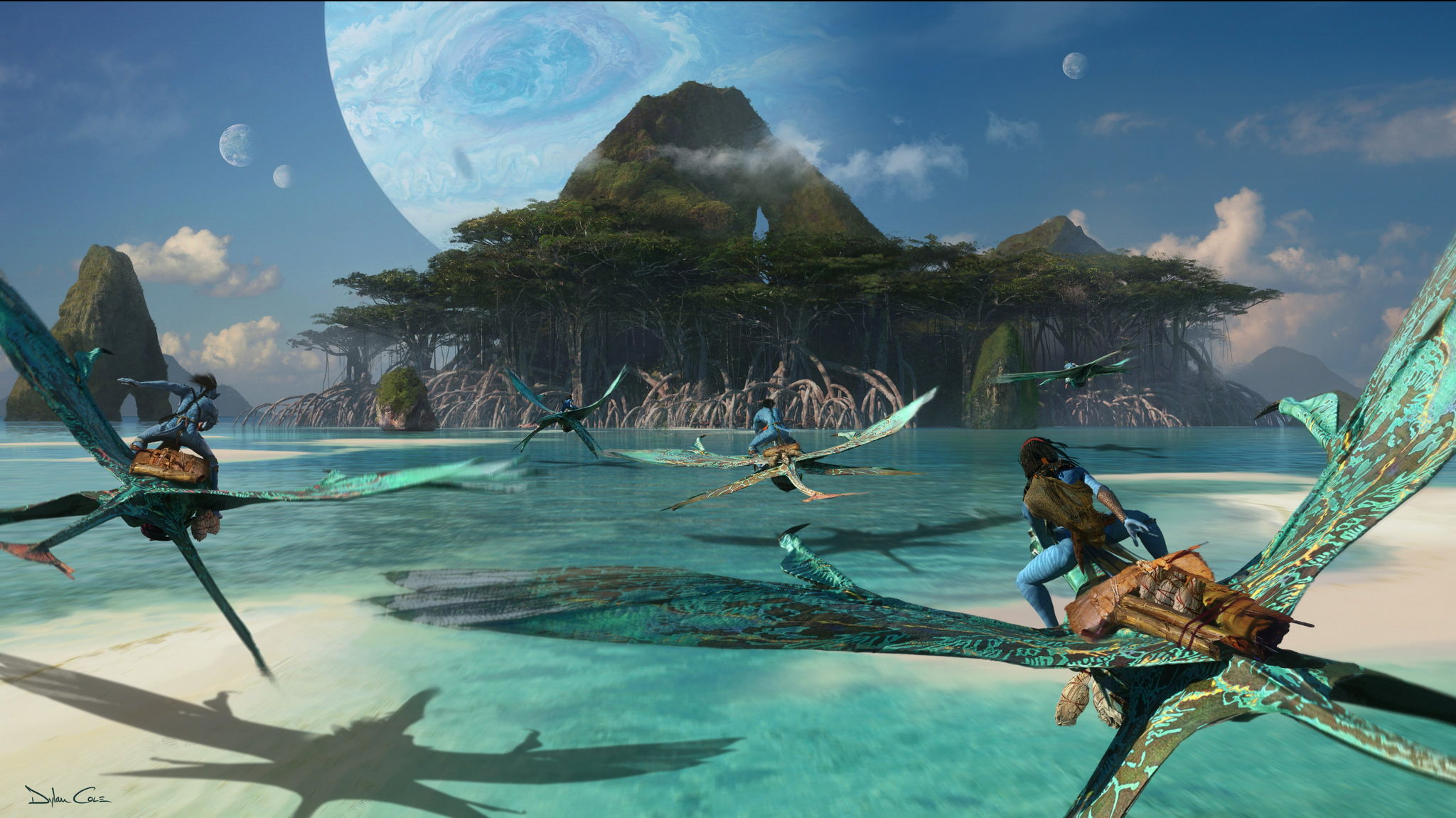 《阿凡达2》官方高清概念艺术图欣赏