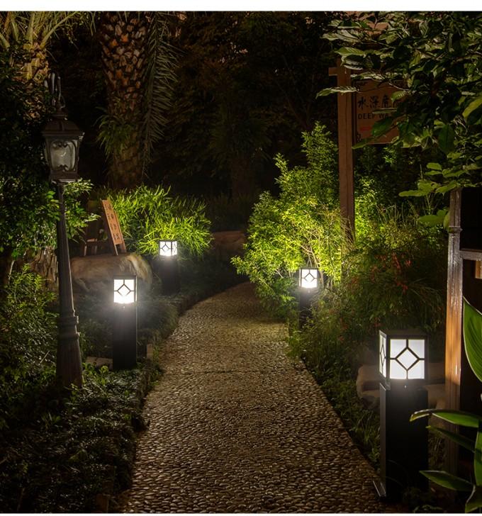 HGCPD-011 户外花园学校LED草坪灯