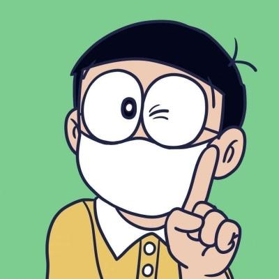 微信QQ通用戴口罩卡通头像分享