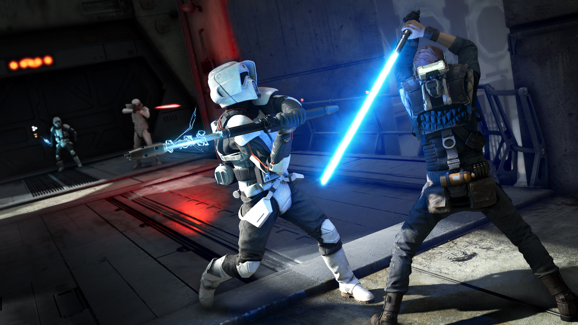 星球大战绝地:陨落的武士团破解版 星战最新系列游戏