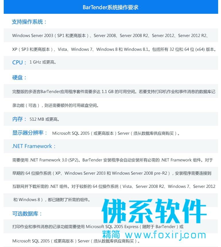 条码标签打印工具 BarTender Enterprise 2019 R6 中文企业版