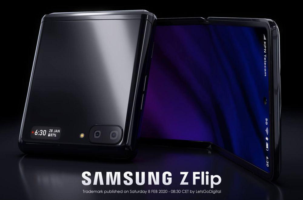 """三星已注册""""Z Flip""""商标,旗下第二款折叠屏手机名称正式公布"""