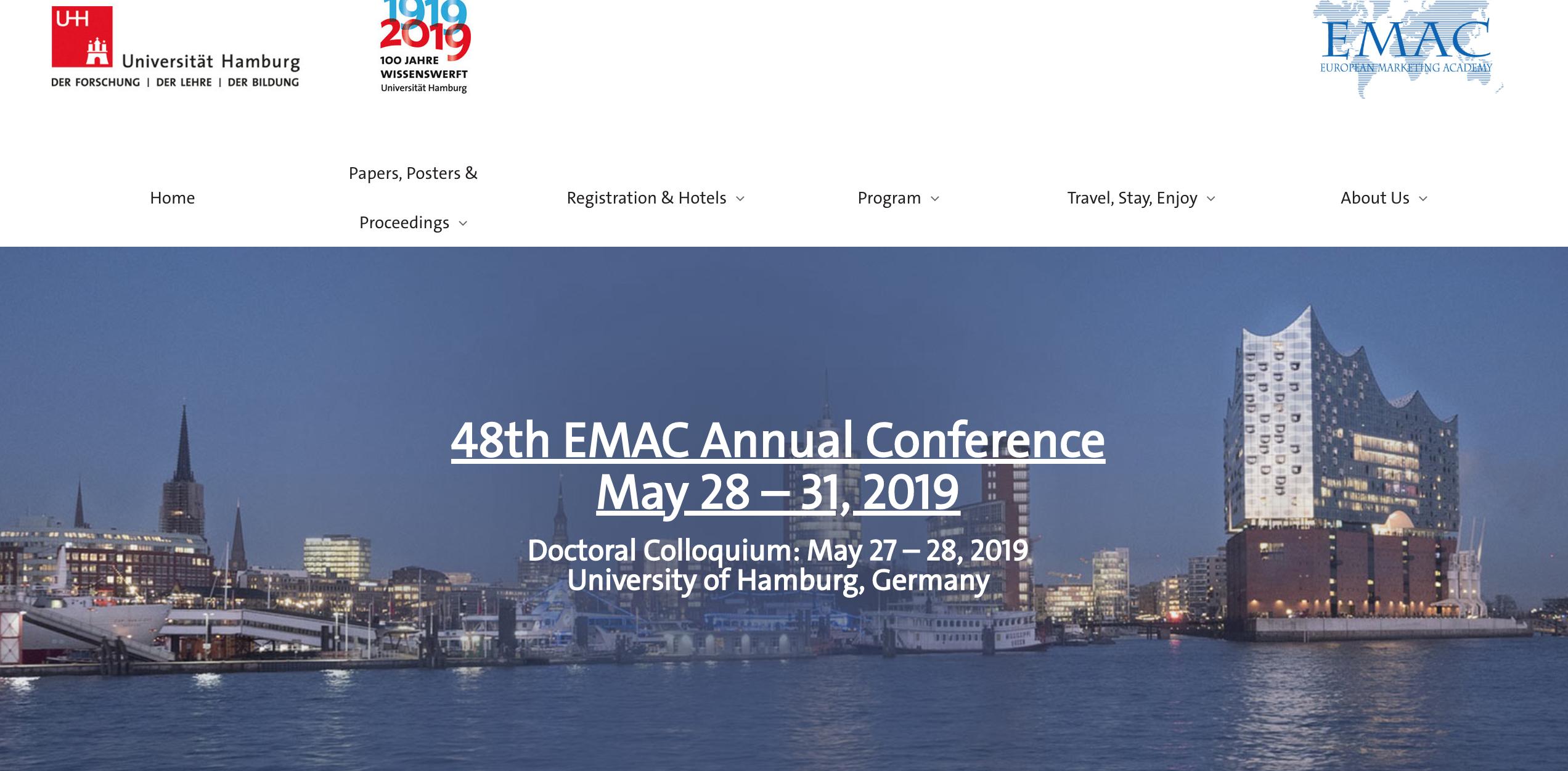 2015级张星雅同学科研实践文章被EMAC年会接收