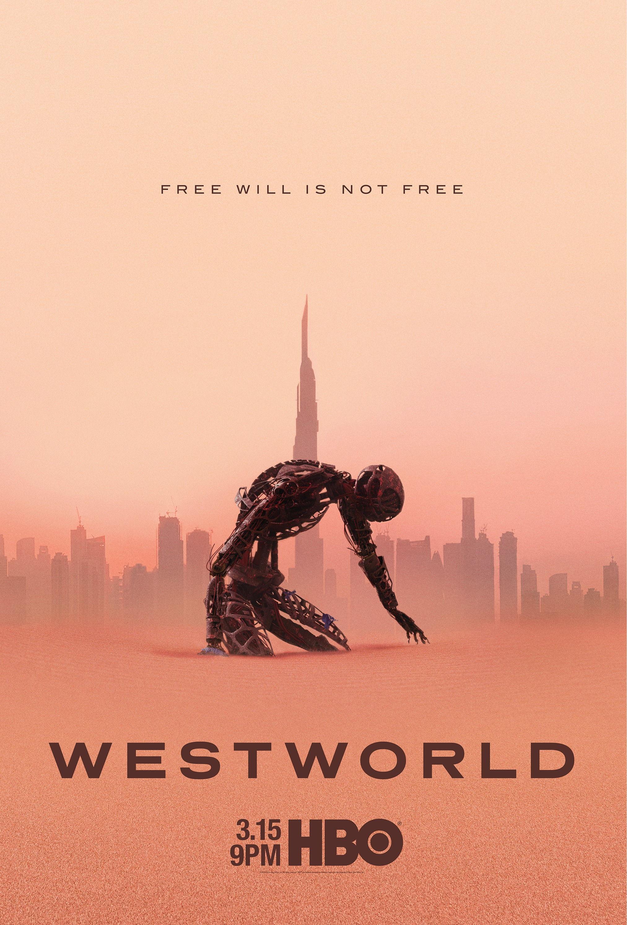 HBO《西部世界》第三季新海报公布:3月16日回归