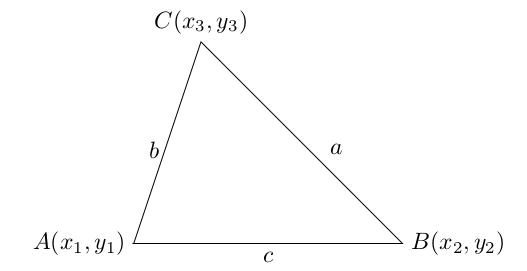 三角形的31个面积公式