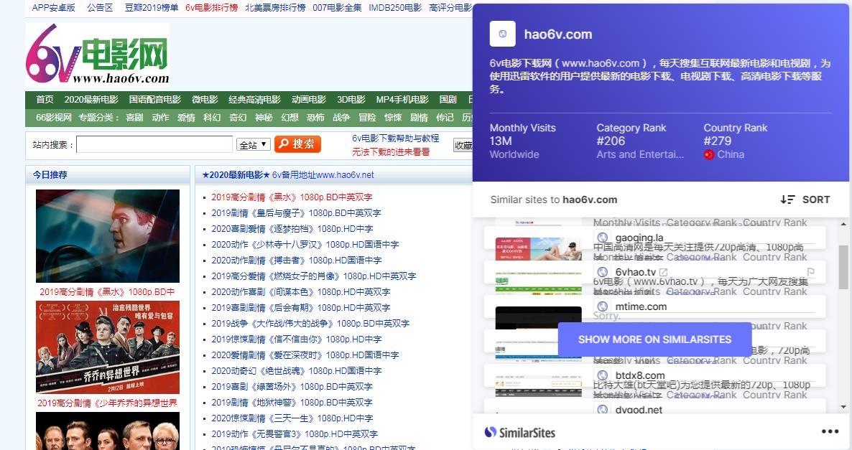 [Windows] Chrome超牛插件——查找类似网站!
