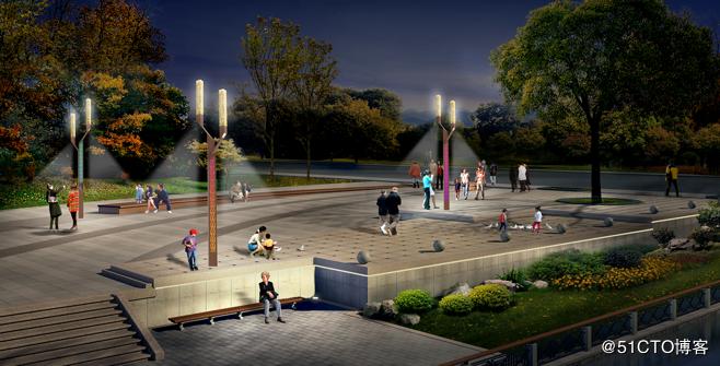 公园智慧路灯解决方案