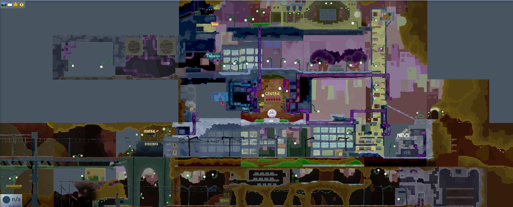贩卖波波帽的波波城(中心)地图